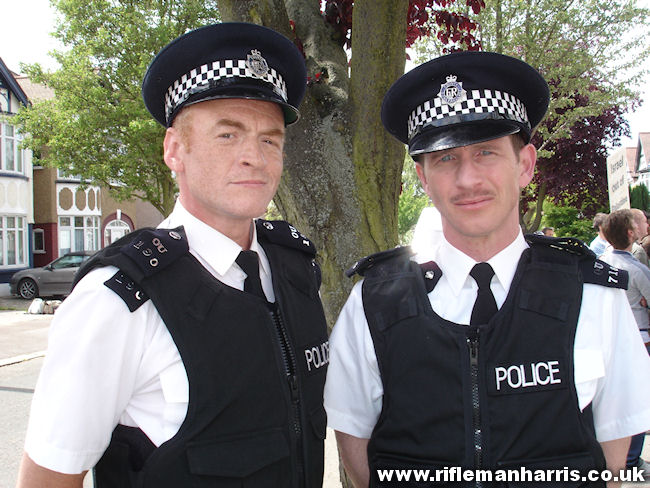 Paul Kaye (aka Dennis Pennis) and I are cops called to arrest Omid ...
